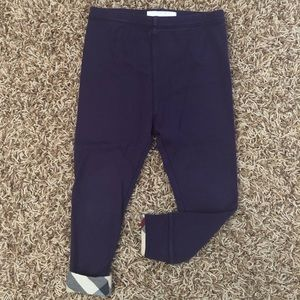 Burberry like new leggings